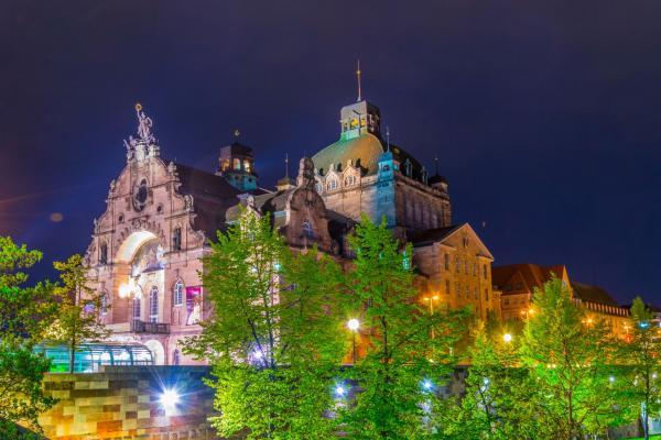 Horizontausleuchtung Staatstheater Nürnberg